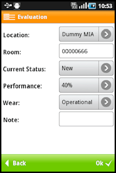 Movelet resumen de un activo desde el dispositivo móvil en SAP FI-AA.