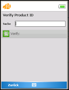 Movelet verificar ID SAP Track Trace con el móvil